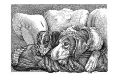 Archer & Sailor - Talking Heads -  Lyric Portrait Word Art Drawing