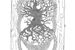 Family Tree - Carbon Leaf  - Lyric Portrait Word Art Drawing