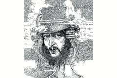 Chuck Mangione  - Feels So Good - Lyric Portrait Word Art Drawing