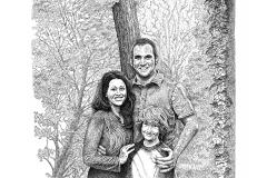 The Meskos - Time In A Bottle  - Lyric Portrait Word Art Drawing