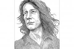 Todd Rundgren - Something Anything  - Lyric Portrait Word Art Drawing